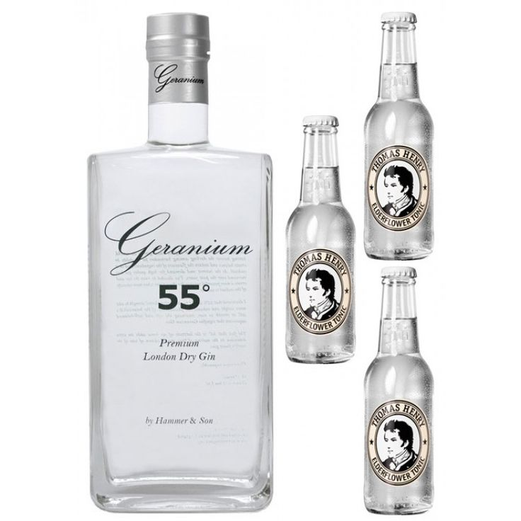 Geranium Gin with Tonic Water #gin #gintonic #gt #tonicwater #ginsets…