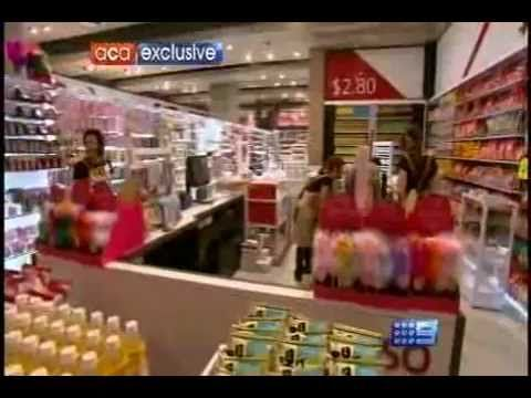 Brian Walker discusses the new discount store Daiso with A Current Affair. Daiso has just opened at Doncaster and has rapid expansion plans. Daiso offers a large variety of products all for just $2.80! #retail #business