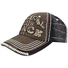 Men Distressed Vintage Denim Dry Baseball Leather Snapback Trucker Hat