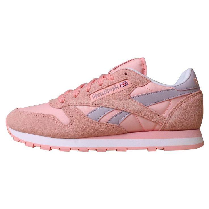 reebok classic suede womens pink 41f8b7a9f