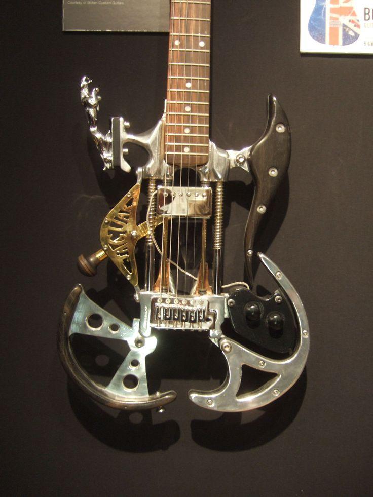 unique guitar | Guitarras personalizadas - Friki.net