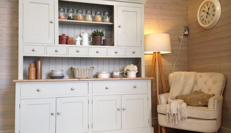 kitchen cabinets, Welsh dresser