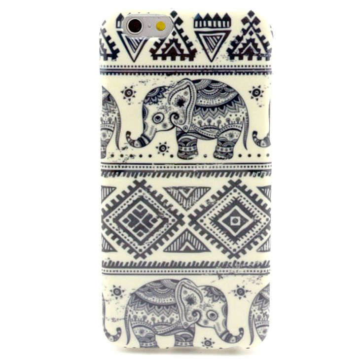 Fashion Cute Elephant Soft TPU Gel Back Case Cover For Apple Iphone 6 Plus 5.5'' #No