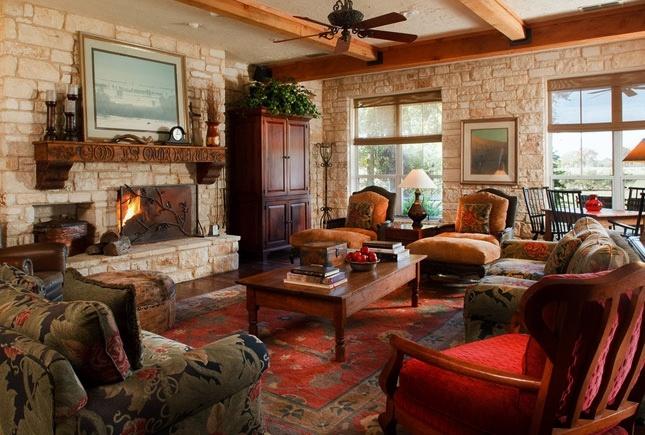 Austin Stone Interior Austin Stone Western Ranch Homes