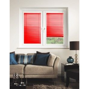 Lipstick Red Perfect Fit Venetian Blind