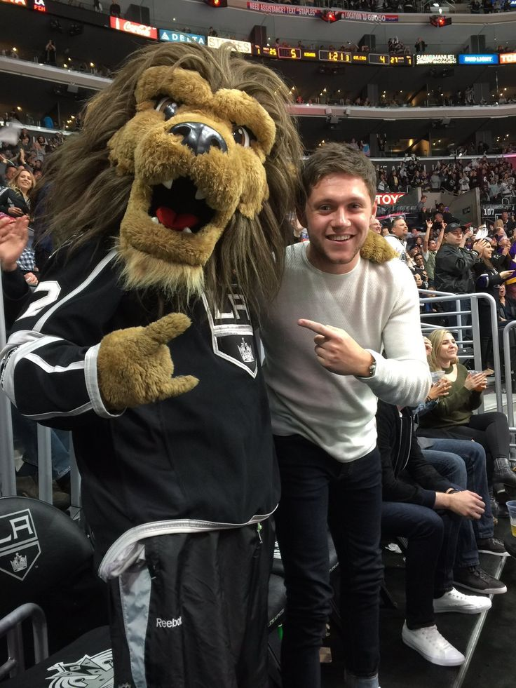 This little cutie attends the LA Kings games yesterday at the Staples Center!
