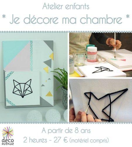 Nouveaux ateliers créatifs pour enfants - Décoavenue - Cabinet de curiosités créatives