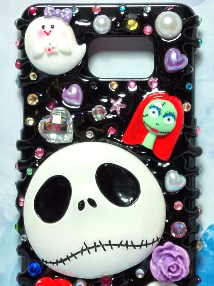 Samsung cases jack nightmare before Christmas Jack & Sally glittering case