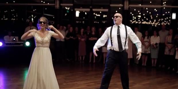 Une incroyable danse de mariage entre un père et sa fille