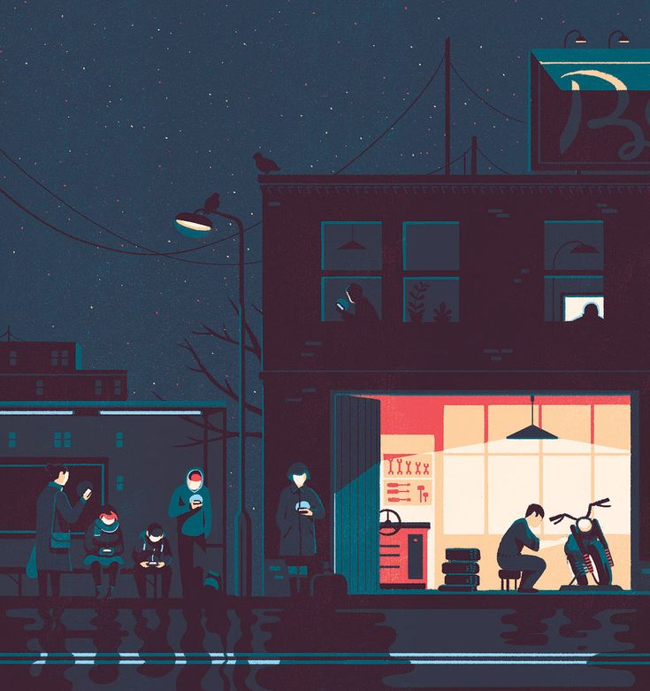 Illustrations Tom Haugomat pour Télérama - Les technologies modernes nous sollicitent de plus en plus, et chacun semble s'en réjouir. Or, cela épuise notre faculté de penser et...