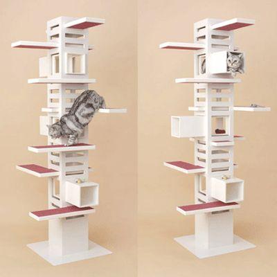 Cat Tree Design Ideas Simple Diy Cat Furniture