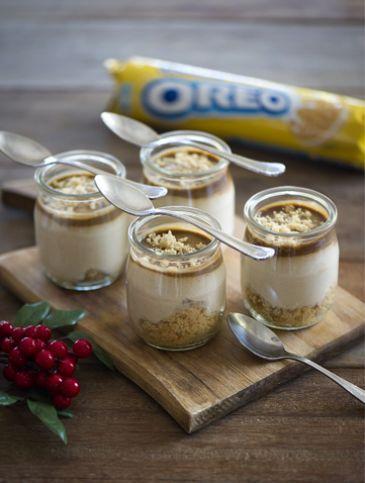 Ποτηράκια με OREO, σοκολάτα και αμύγδαλα | Γλυκά, Γλυκά με Oreo | Athena's Recipes
