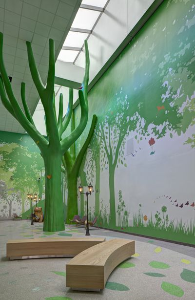 Altro Digiclad - Hygienic Wall Cladding at The National Children's Hospital
