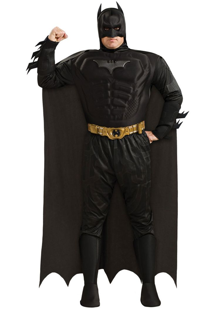 Batman Dark Knight Deluxe Costume Plus Size - Hollywood and TV costumes at Escapade™ UK - Escapade Fancy Dress on Twitter: @Escapade_UK