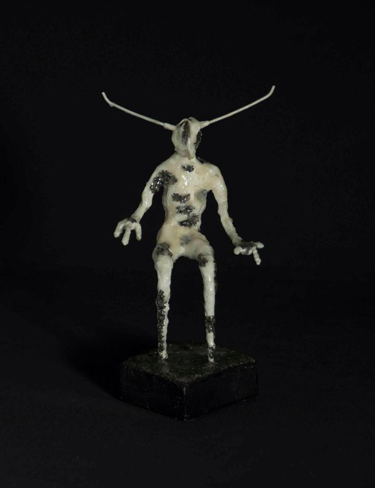 Mixed materials,  sculpture by Chris Kollias