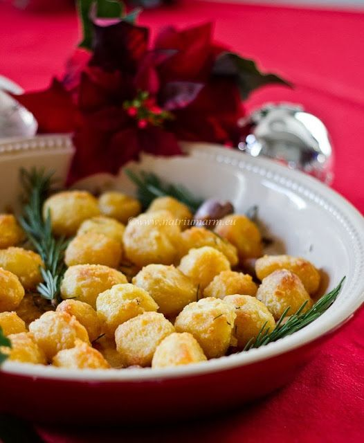 Хрустящий печеный картофель