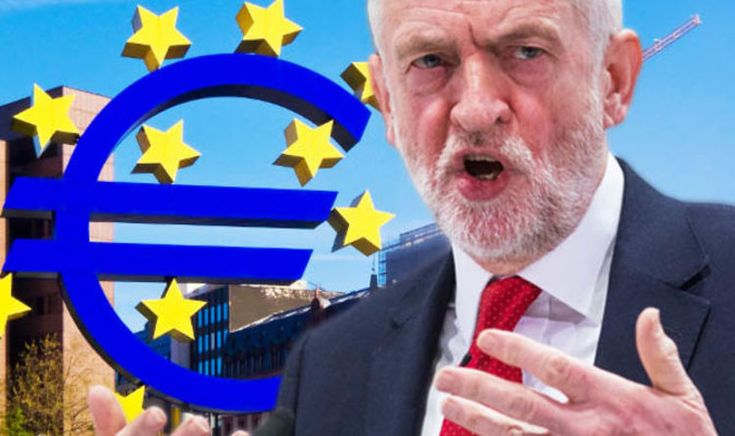 Jeremy Corbyn YOU'VE CAPITULATED! Labour faithful accuse leader of cowering to EU | City & Business | Finance #business
