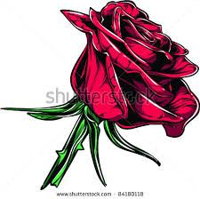 Image result for red rose bud tattoo designs