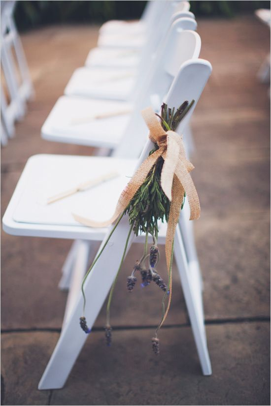 natural hanging aisle decor #weddingceremony #weddingdecor #weddingchicks http://www.weddingchicks.com/2014/04/11/pink-party-wedding/