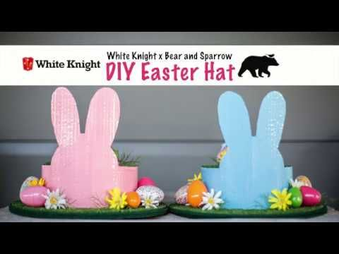 How to make an Easter Hat with Bear and Sparrow - YouTube