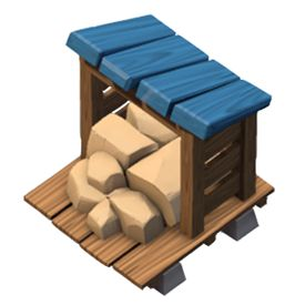 The Stone Storage stores Stone. Stone Storage Tips The Stone Storage protects your Stone from enemy attacks. Building size: 3×3 Resource: Stone Head... #boombeach