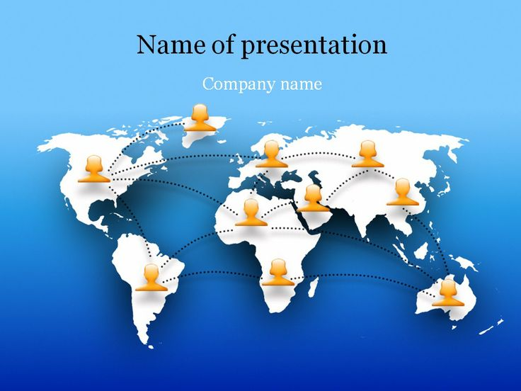 facebook powerpoint template | templates | pinterest | power point, Modern powerpoint