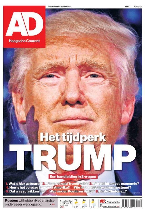 Algemeen Dagblad 2016-11-10 #trump