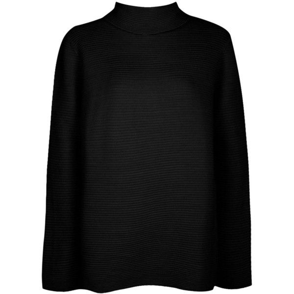 Boohoo Lacey Rib Knit Roll Neck Jumper ($40) ❤ liked on Polyvore featuring tops, sweaters, marled sweaters, nordic sweater, roll neck sweater, turtleneck sweater and rollneck sweaters