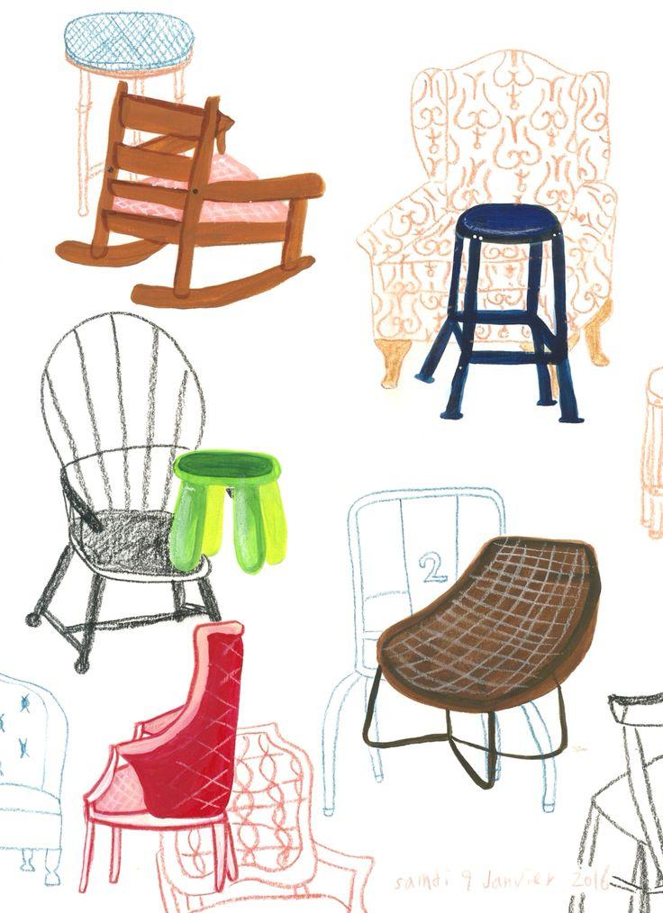 의자들 Chaises