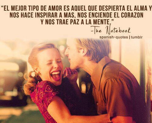 Spanish Quote Frase De Amor Quote In Spanish Frases Para