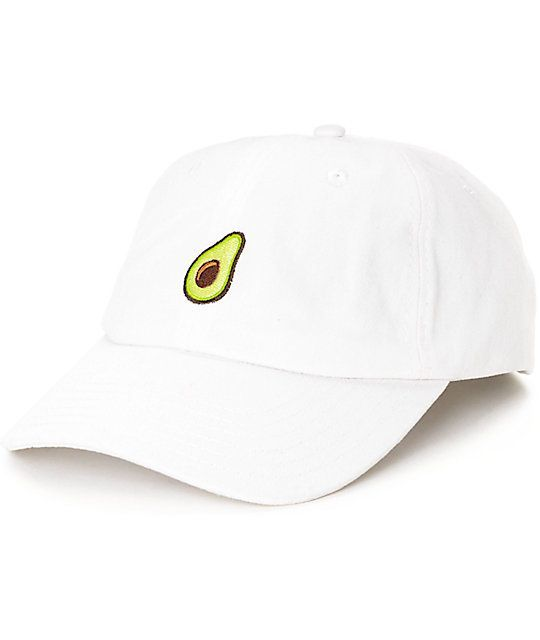 We know avocado is extra! Let the world know you need that avocado in your burrito, no matter how much it costs! Whether is guac style, or fresh off the tree, if you love avocado in all its forms grab this Solstice Avocado white dad hat and kill the style