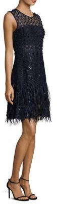 Elie Tahari Anabelle A-Line Dress