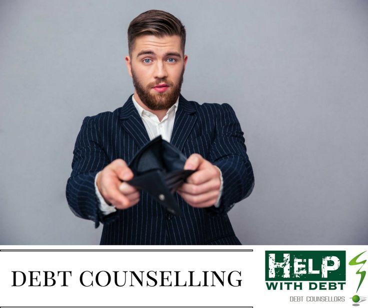 Debt counselling   Welcome to Help with Debt. Your one stop National debt counsellor for debt counselling and Debt review applications  If you are struggling to pay your accounts. Facing legal action and repossessions, call us today  We provide free consultations on debt counselling. If you just need advice,