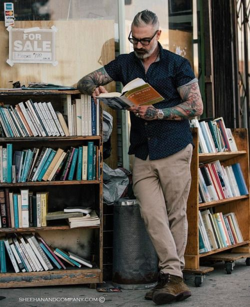 Dapper Clothing. Being of a fit mind is just as important as being of a fit body for me.. Exercising your intellect and challenging yourself to learn everyday is important… There is a book store on Heliotrope street and Melrose Avenue right across from my studio. I...