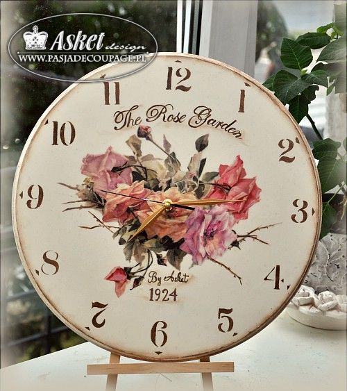 Flower Clock 35 cm
