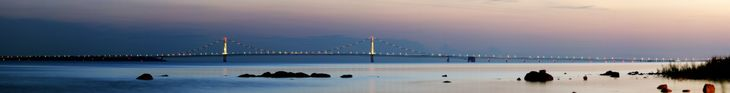 1958 - The Mackinac Bridge connects Michigan's upper and lower peninsulas. At the time, it was the world's longest suspension bridge  between anchorages--it is now third in the world.