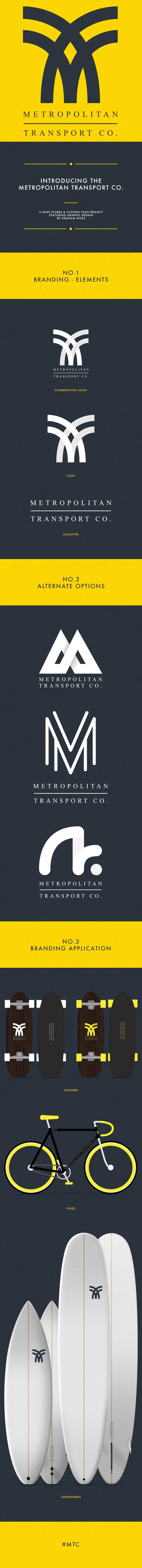 METROPOLITAN TRANSPORT CO. on Behance