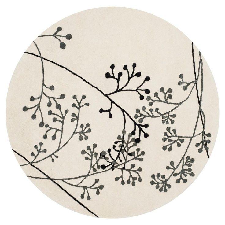 Safavieh Walsall Area Rug - Ivory / Grey (8' X 8' Round)