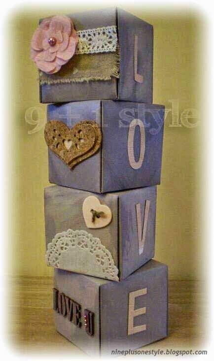 Cubi d'Amore - Love Cubes