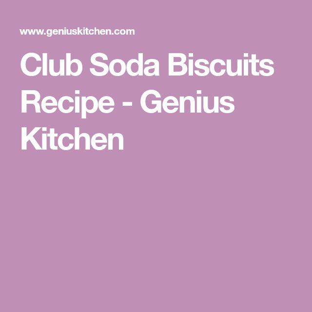 Club Soda Biscuits Recipe - Genius Kitchen