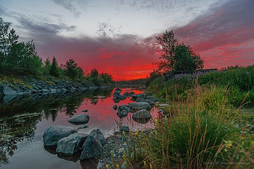 Фотограф Роман Горячий (Roman Goryachiy) - Тихая ночь. Хибины. #1715433. 35PHOTO