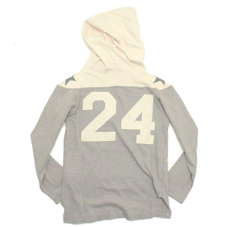 DENIM DUNGAREE(デニム&ダンガリー):テンジク24 パーカー 3GRグレー の通販【ブランド子供服のミリバール】