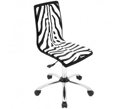 Zebra Desk Chair @Amanda Snelson Pegram True