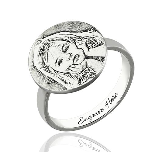 What can be more personal than a ring? Rings are perfect gifts for any loved one. They signify an unending love and closeness. Many people gift rings to one another to show each other how they feel. And if there was a way to make these perfect gifts even more special, this is the way. Photo engraving the rings adds that extra bit of elegance as well as puts a personal touch to it.