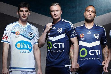 Melbourne Victory FC 2015/16 adidas Home and Away Kits