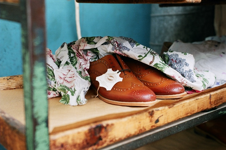 Traditional brogues from NPS Shoes Ltd