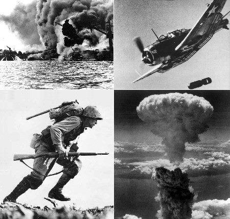 Na sequência do ataque a Pear Harbor na manhã de 7 de dezembro de 1941, os Estados Unidos acabariam por entrar na Segunda Guerra Mundial, declarando guerra ao Japão. Generaliza-se também a Guerra do Pacifico, conflito que durou quase 8 anos e que envolveu inúmeros países.