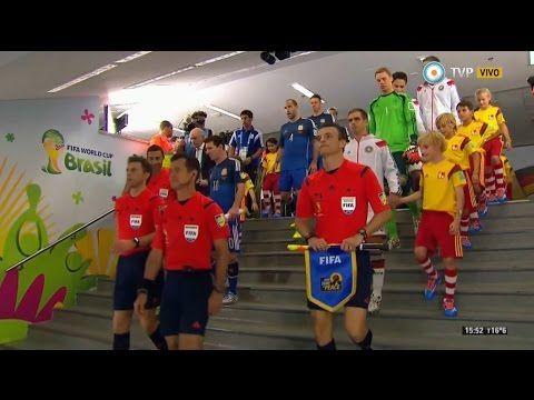 Alemania vs Argentina - FINAL Mundial 2014 - Partido completo