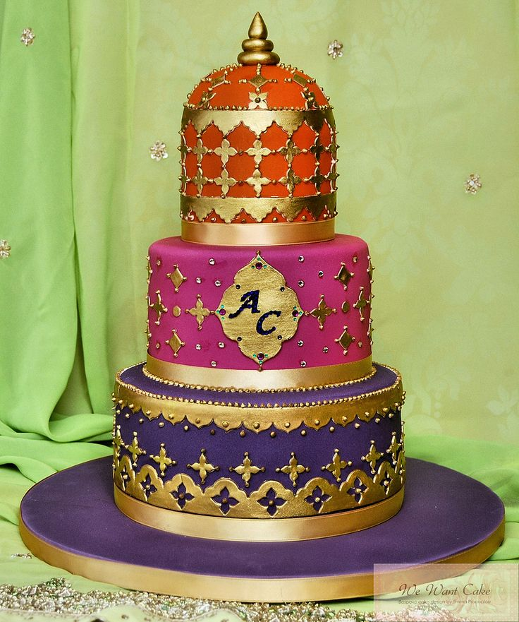 17 Best Ideas About Mehndi Cake On Pinterest