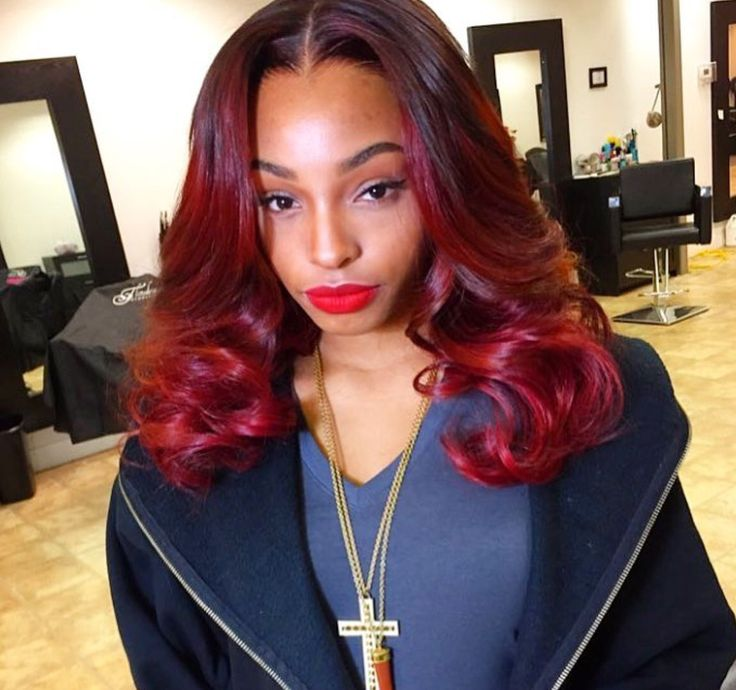 Red Hairstyles Impressive 119 Best Red Hairstyles Images On Pinterest  Black Girls Hairstyles